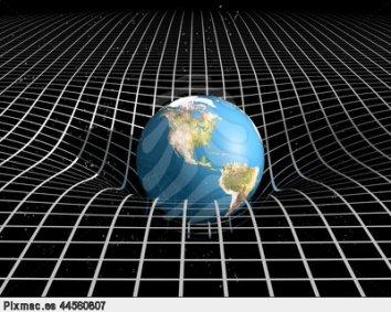 espacio-tiempo-y-la-gravedad-3d-pixmac-ilustracion-44560807
